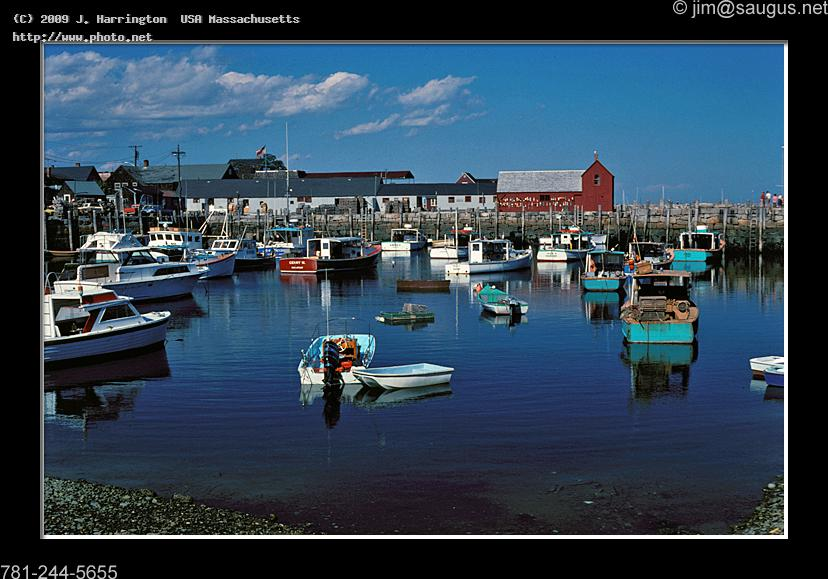 rockport harbor motif massachusetts boats circa harrington usa j