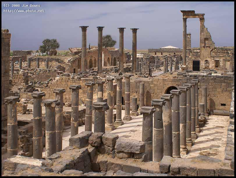 roman ruins at bosra syria sony alpha dslr a s downs jim