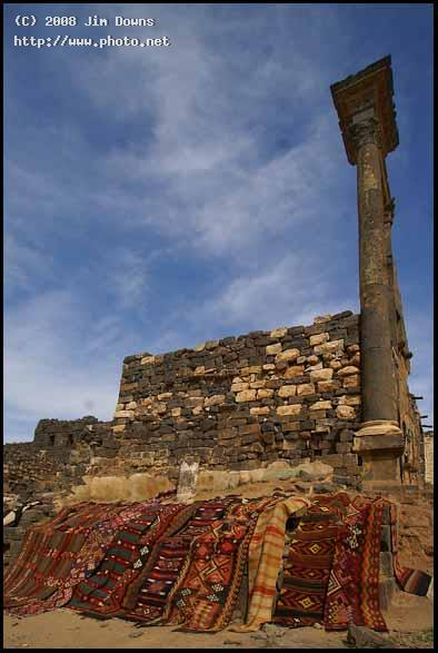 rugs amid ruins bosra sony alpha dslr a dt downs jim