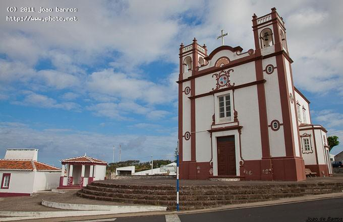 santo anto church azores island architecture barros joao