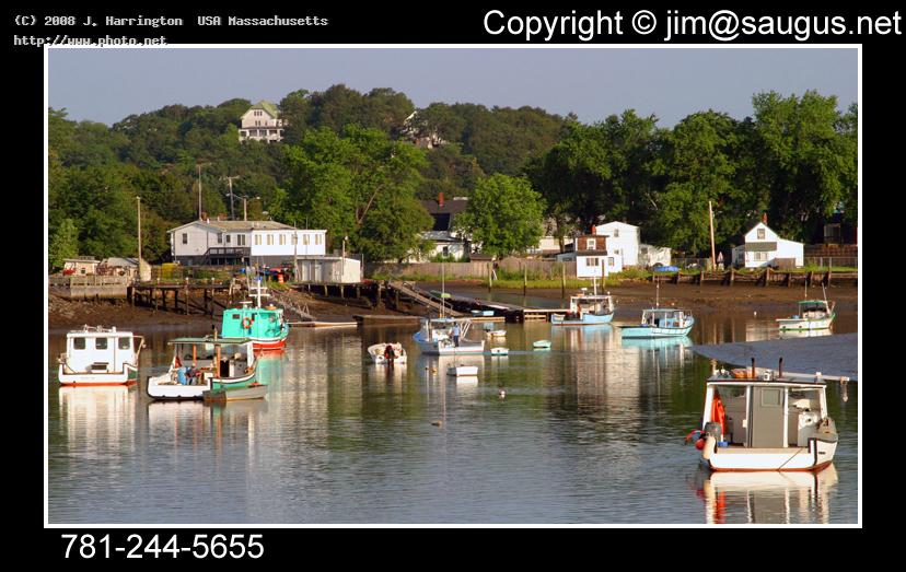 saugus massachusetts lobster boats on river canon mm f l is ef eos d harrington usa j