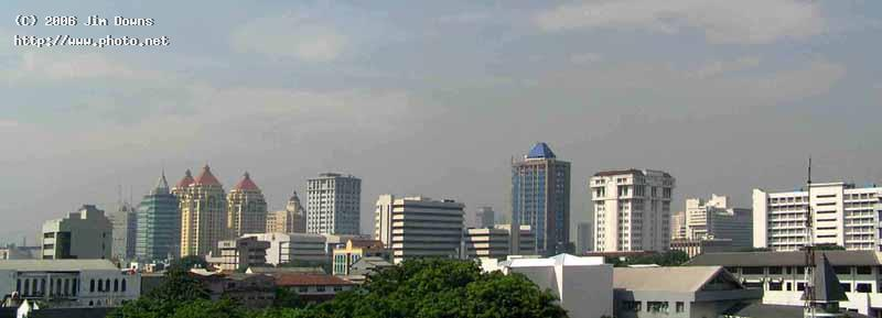 skyline of modern jakarta seeking critique downs jim