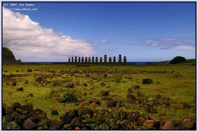 southeast coast of easter island seeking critique downs jim