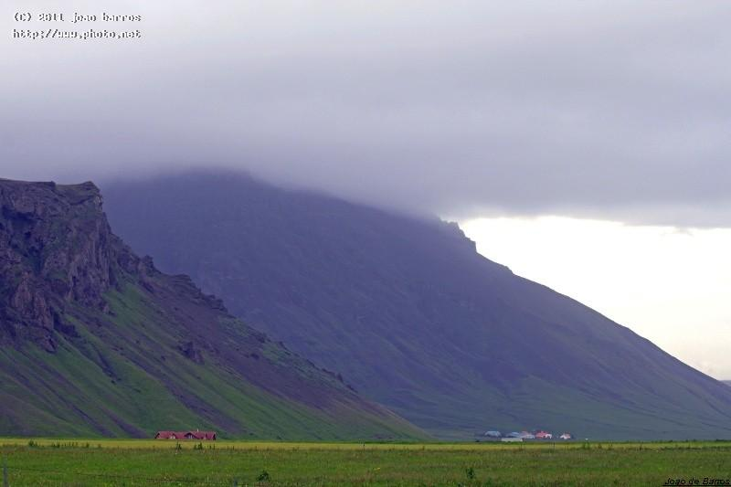 southern side of iceland landscape mountain barros joao