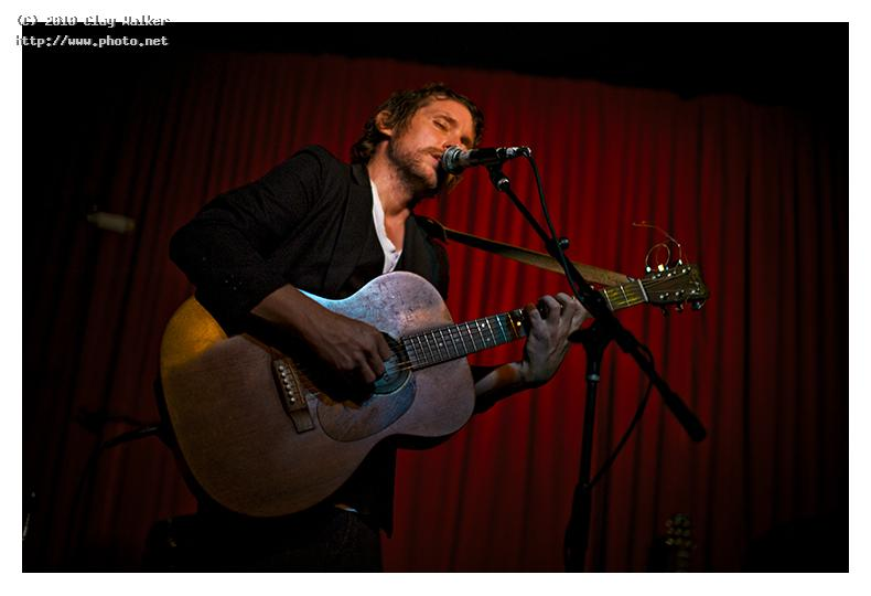 steve reynolds at the hotel cafe walker clay
