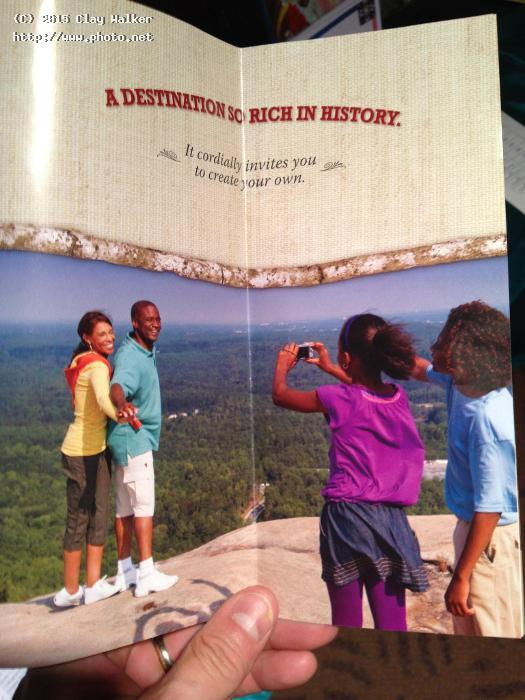 stone mountain brochure walker clay