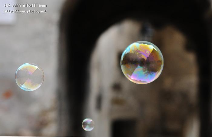 street and bubbles sighisoara romania seeking critique ursu mihail