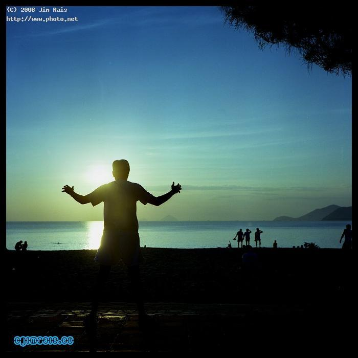 tai chi greets the morning nha trang beach rais jim