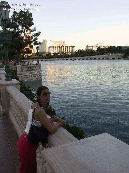 taking in the view by bellagio lake canon powershot g other nicholls kyle