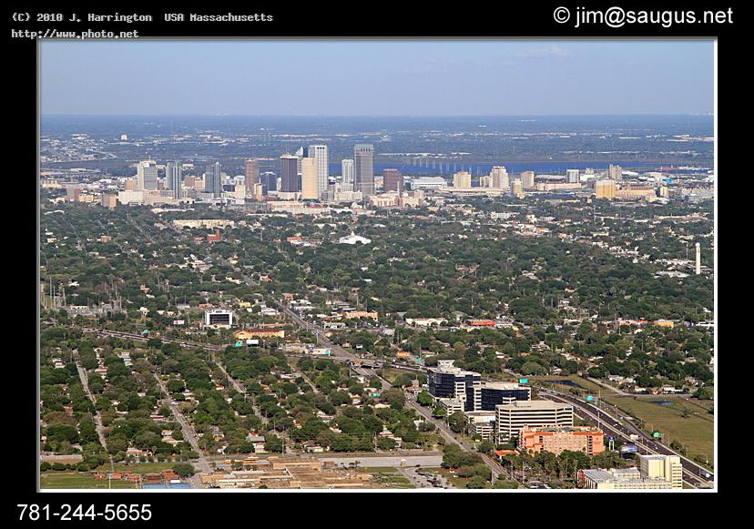 tampa aerial photo florida skyline suburb city see harrington usa massachusetts j