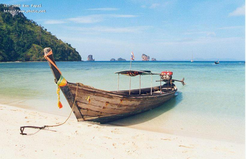 thai longboat taxi in krabi seeking critique papai ken