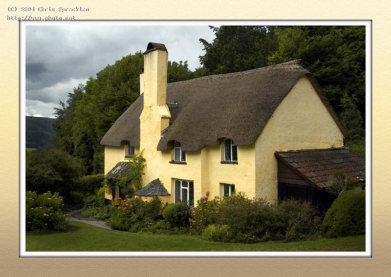 thatched cottage selworthy seeking critique spracklen chris