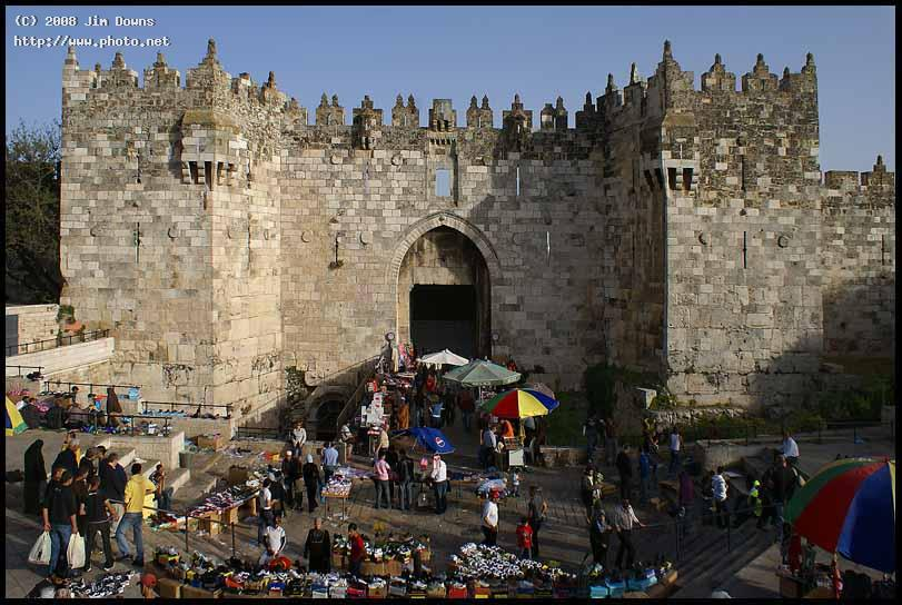 the damascus gate in old jerusalem sony alpha d downs jim