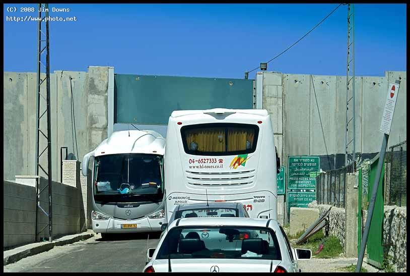 the israeli wall at jerusalembethlehem border crossing be downs jim