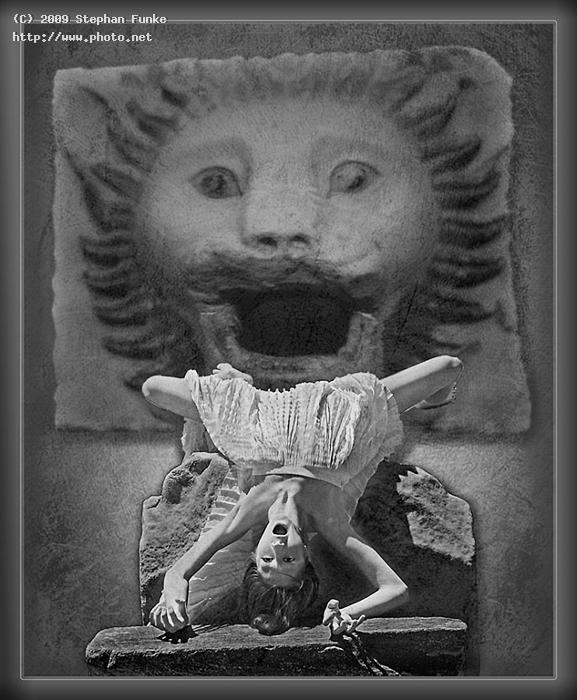 the lion of akropolis museum composite funke stephan