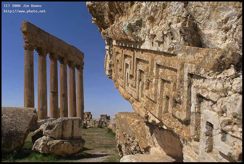 the roman ruins at baalbek lebanon sony f alpha dslr a downs jim