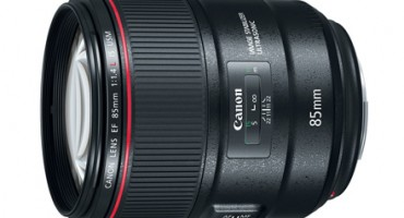 Canon announces an 85mm f/1.4L IS USM