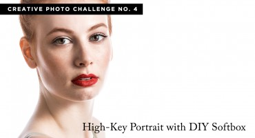 Creative Photo Challenge No. 4 – High-Key Portraits (w/ DIY Softbox)