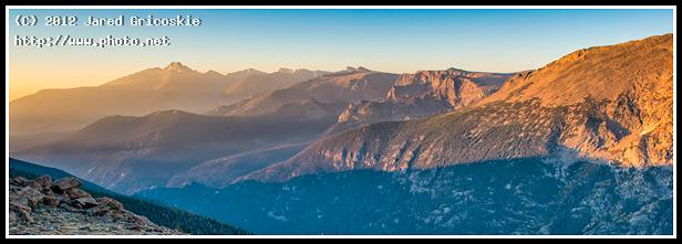 tomestone ridge sunrise pano gricoskie jared
