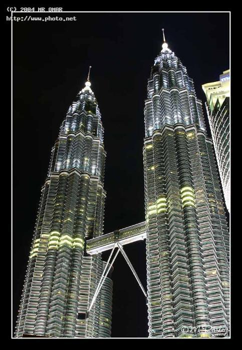 twin tower at night seeking critique omar mr