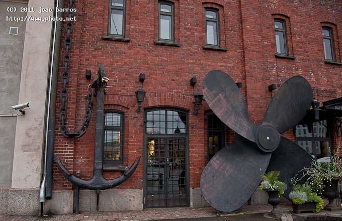 untitled anchor wall propeller maritime helsinki barros joao