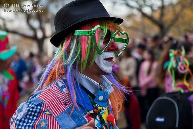 untitled carnival clown joy amusement eyeglasses barros joao
