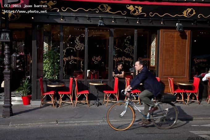 untitled town street paris bycicle barros joao