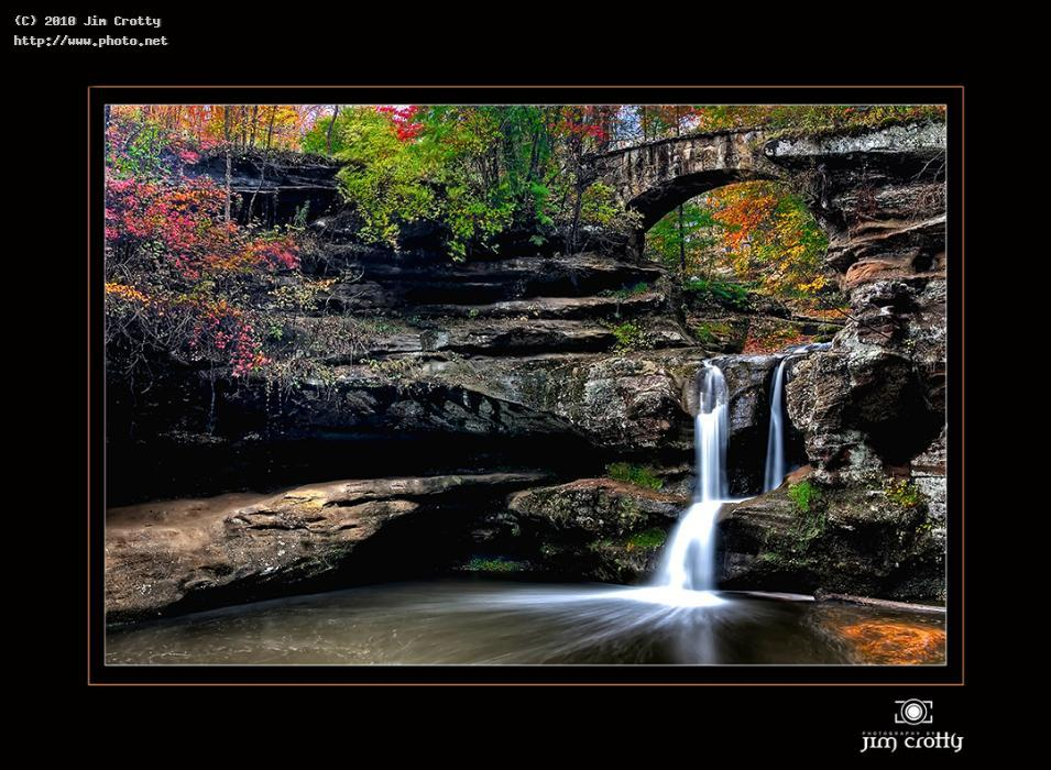 upper falls in october crotty hocking photography photographer hills wate jim