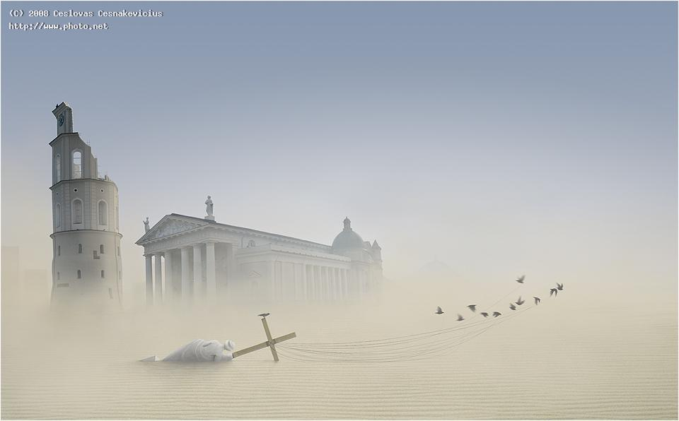 vilnius desert hail new world seeking critique cesnakevicius ceslovas
