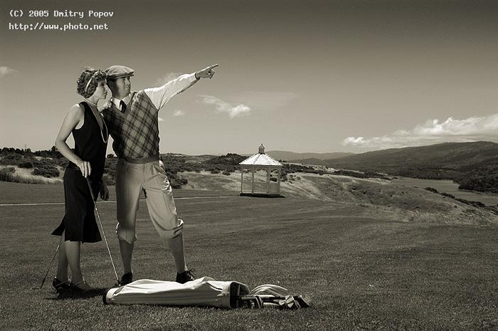 vintage golf seeking critique popov dmitry
