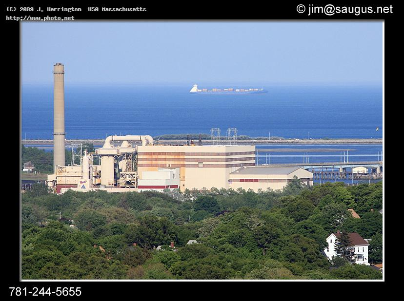 wheelabrator resco saugus massachusetts from mt ho ship trash atlantic cargo energy incinerator harrington usa j