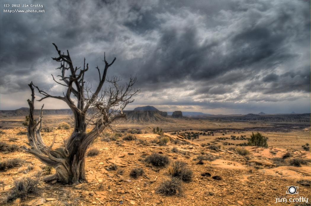 winter sky at cabezon peak wilderness area new desert landscape crotty jim ca