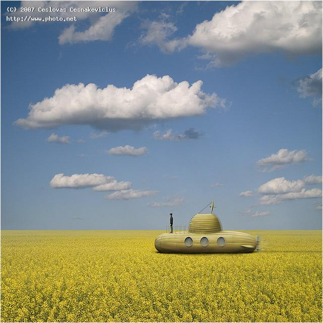 yellow submarine seeking critique cesnakevicius ceslovas