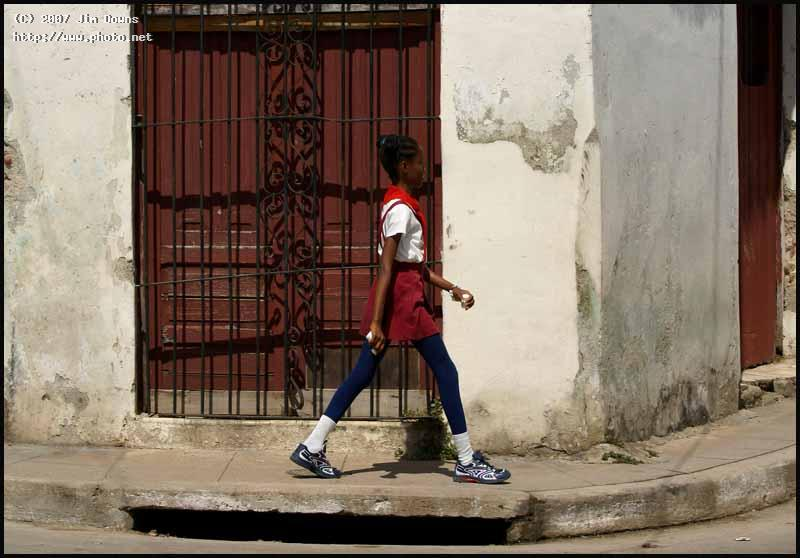 young lady with a long stride cuba seeking critique downs jim